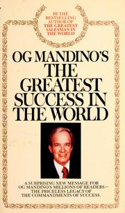 The greatest success in the world by Og Mandino