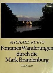 Fontanes Wanderungen durch die Mark Brandenburg