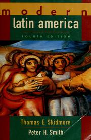 Cover of: Modern Latin America by Thomas E. Skidmore