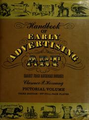Handbook of early advertising art, mainly from American sources by Clarence Pearson Hornung