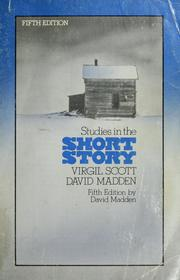 Studies in the short story by Virgil Scott