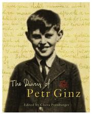 Cover of: The Diary of Petr Ginz by