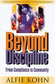 Beyond Discipline by Alfie Kohn