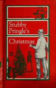 Cover of: Stubby Pringle's Christmas by Jack Schaefer
