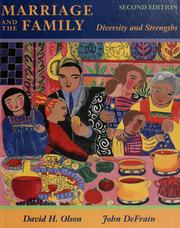Marriage and the family by David H. L. Olson