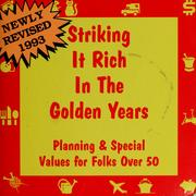 Cover of: Striking it rich in the golden years by
