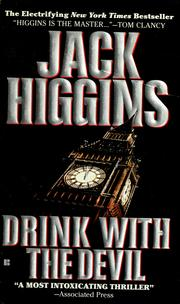 Cover of: Drink with the devil | Jack Higgins