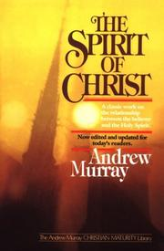 The spirit of Christ PDF