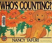 Cover of: Who's counting? by Nancy Tafuri