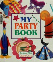 My party book by Marion Elliot