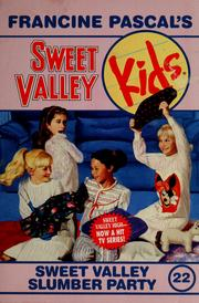 Cover of: Sweet valley slumber party by Molly Mia Stewart