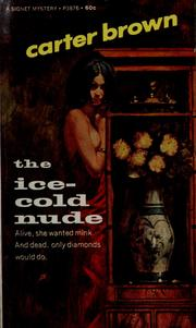 Cover of: The ice-cold nude by Carter Brown