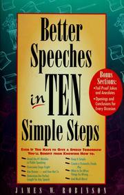 Better speeches in ten simple steps