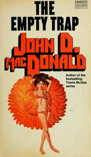 Cover of: The empty trap by John D. Macdonald