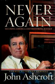 Never Again by John Ashcroft