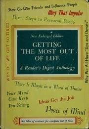 Cover of: Getting the most out of life by