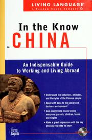 Living Language In the Know in China by Jennifer Phillips