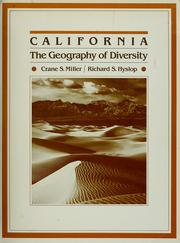California, the geography of diversity by Crane S. Miller