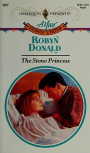 Cover of: The stone princess by Robyn Donald