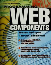 Programming web components by Reaz Hoque
