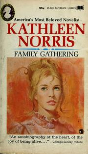 Cover of: Family gathering by Kathleen Thompson Norris