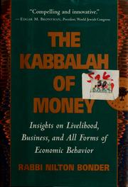 The Kabbalah of money by Nilton Bonder