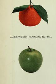 Cover of: Plain and normal by James Wilcox