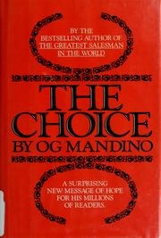 The Choice by Og Mandino