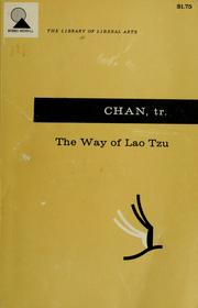 Cover of: The way of Lao Tzu (Tao-te ching) by Laozi