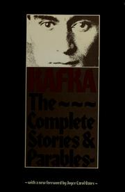 Cover of: Complete stories and parables by Franz Kafka