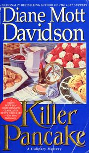 Killer Pancake by Diane Mott Davidson