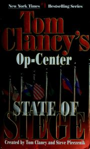 Cover of: State of siege | Tom Clancy