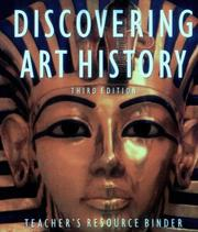 Cover of: Discovering art history by Gerald F. Brommer