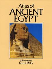 Atlas of ancient Egypt by John Baines