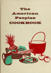 Cover of: The  American peoples cookbook by Culinary Arts Institute.