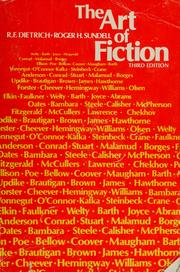 The art of fiction by Richard F. Dietrich