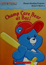 Champ Care Bear at bat! by Quinlan B. Lee