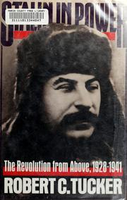 Cover of: Stalin in power by Tucker, Robert C.