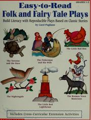 Cover of: Easy-to-read folk & fairy tale plays by Carol Pugliano