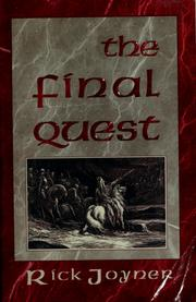 Cover of: The  final quest by Rick Joyner