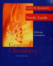 Cover of: General chemistry by Larry K. Krannich