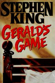 Cover of: Gerald's game by Stephen King