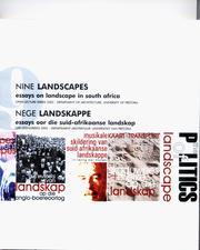 Nine landscapes / Nege landskappe PDF