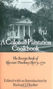 A colonial plantation cookbook PDF