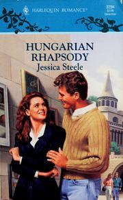 Hungarian Rhapsody by Jessica Steele