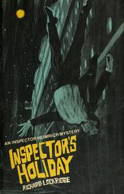 Cover of: Inspector's holiday by Richard Lockridge