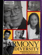 Harmony in diversity by