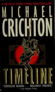 Cover of: Timeline by Michael Crichton