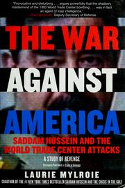 The war against America by Laurie Mylroie