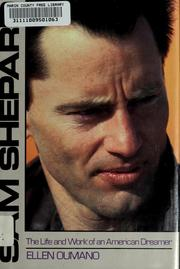 Cover of: Sam Shepard by Elena Oumano